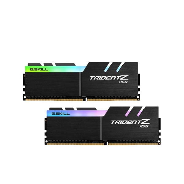 رم دسکتاپ DDR4 دو کاناله 3000 مگاهرتز g skill سریtrident z