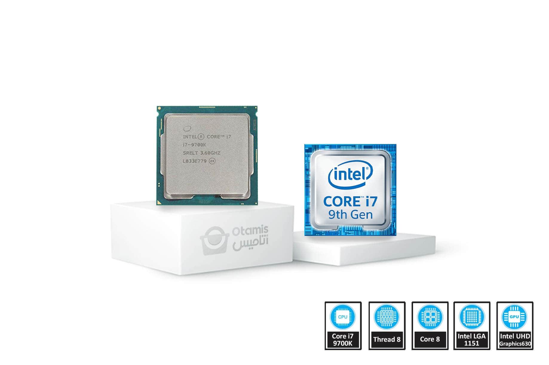 Coffee Lake مدل i7-9700K تری