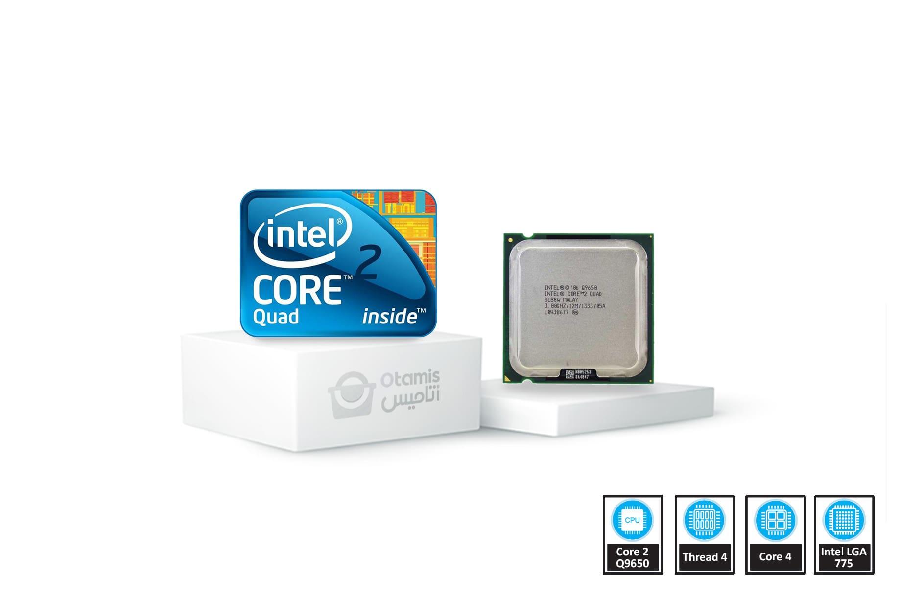 Core 2 Quad مدل Q9650 Tray