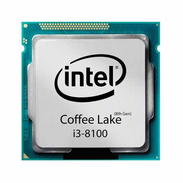 پردازنده مرکزی اینتل سری Coffee Lake مدلcore i3-8100