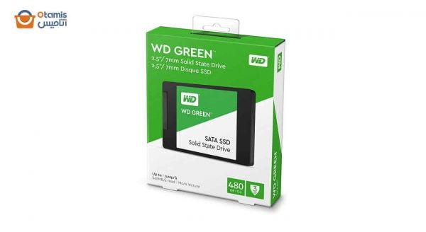 SSD اینترنال وسترن دیجیتال GREEN WDS480G2G0A 480GB