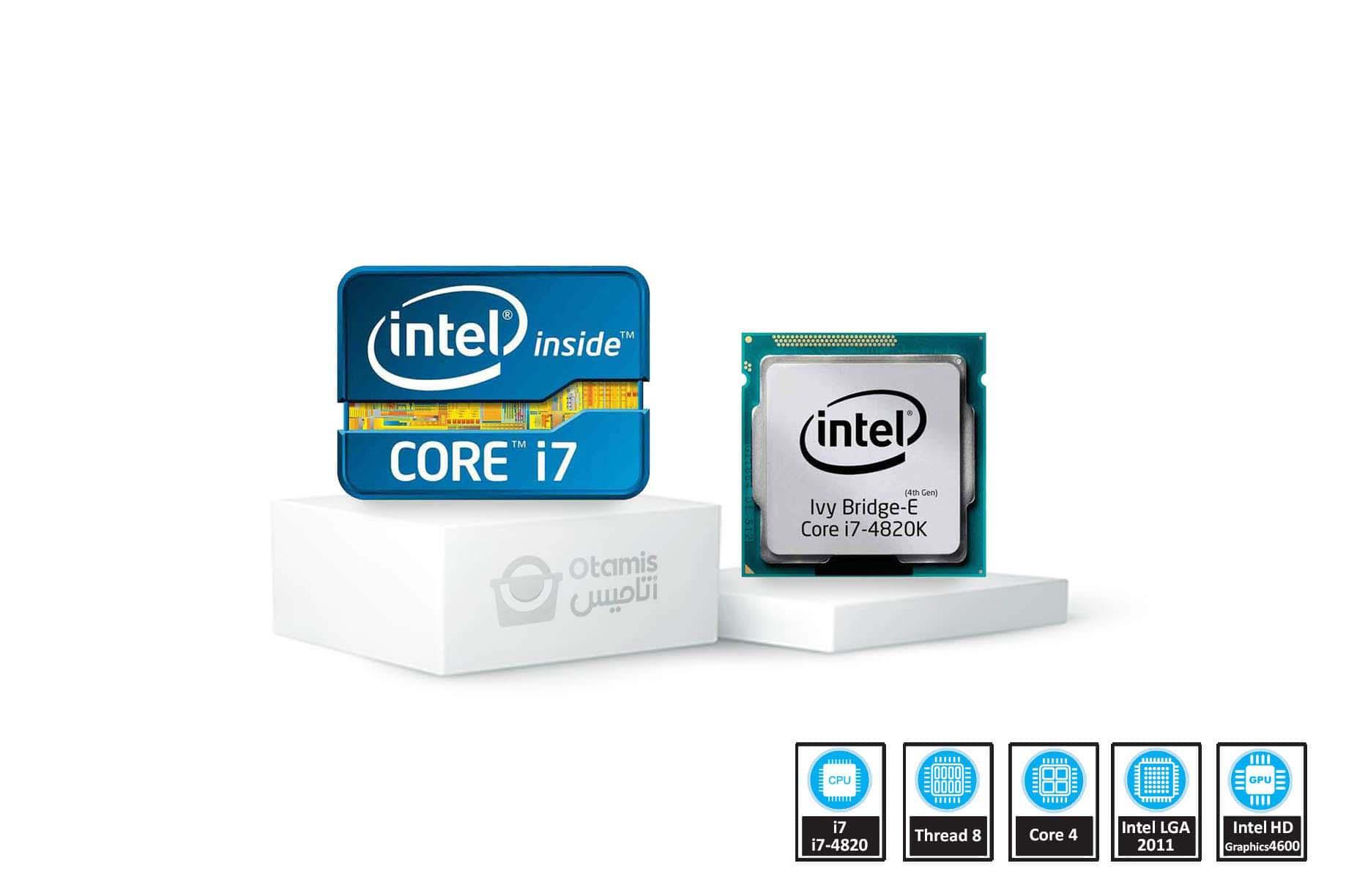 Ivy Bridge-E مدل Core i7-4820K