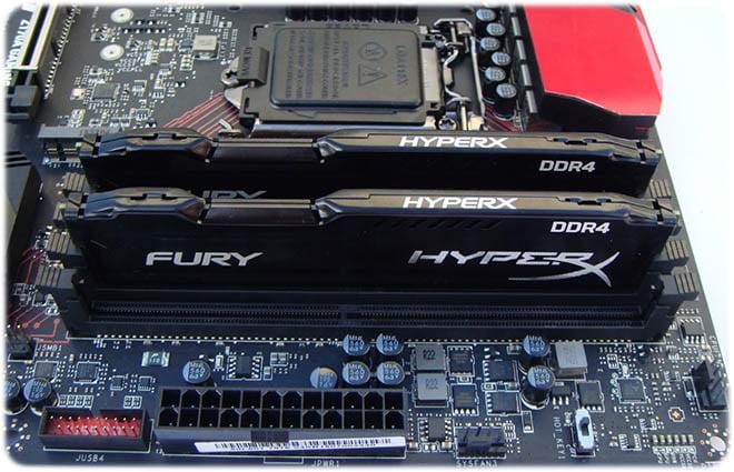 رم HyperX Fury DDR4
