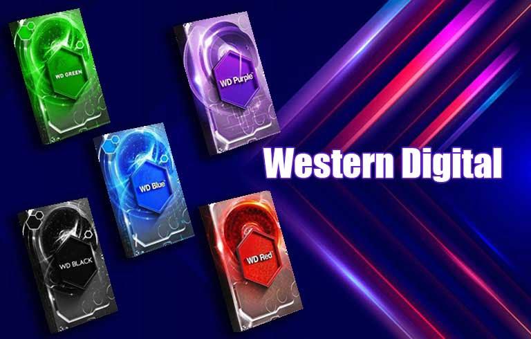 هارد دیسک های وسترن دیجیتال