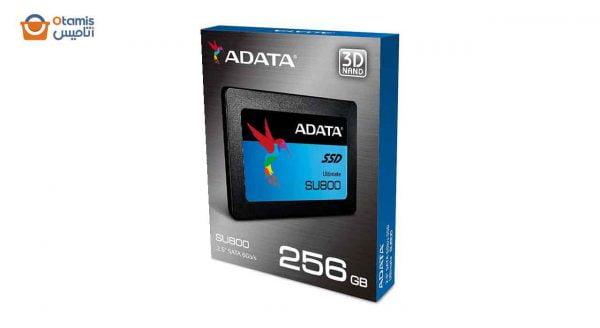 حافظه SSD ای دیتا SU800 256 گیگابایت