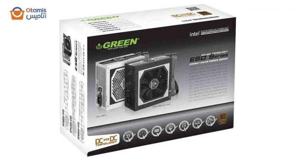 منبع تغذیه کامپیوتر گرین GP330A-ESD