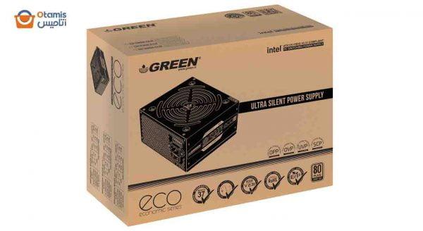 منبع تغذیه گرین GP400A-ECO Rev3.1