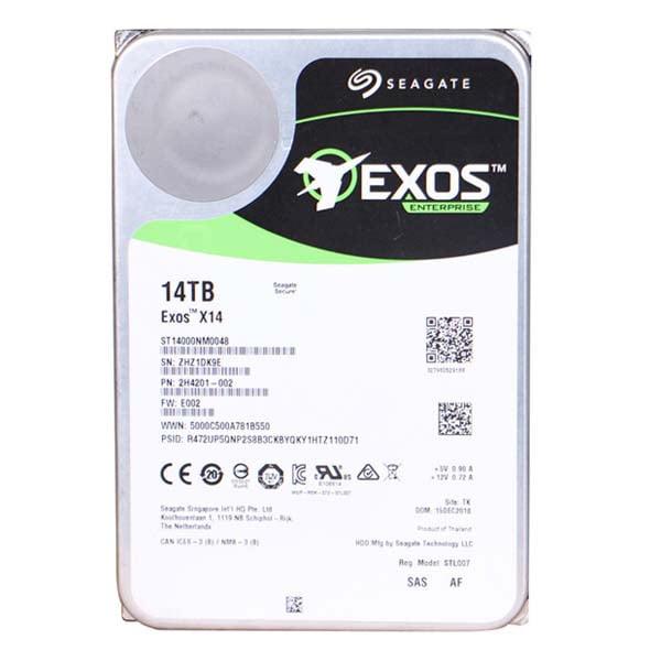 هارد دیسک اینترنال سیگیت ST14000NM0048 Enterprise 14TB