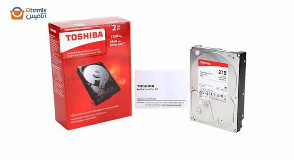 هارد دیسک اینترنال توشیبا P300 HDWD120 2 ترابایت