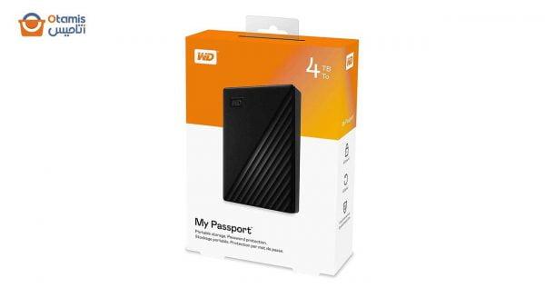 هارد اکسترنال وسترن دیجیتال My Passport 4 ترابایت