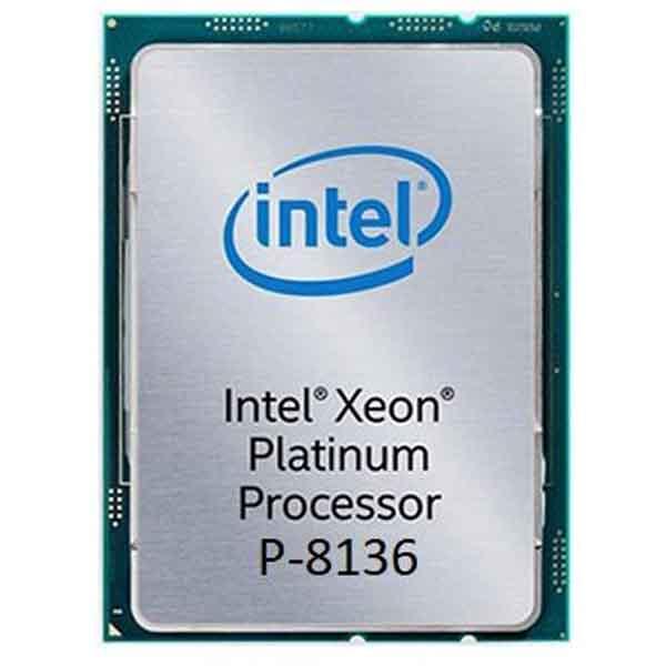 پردازنده اینتل Platinum P 8136