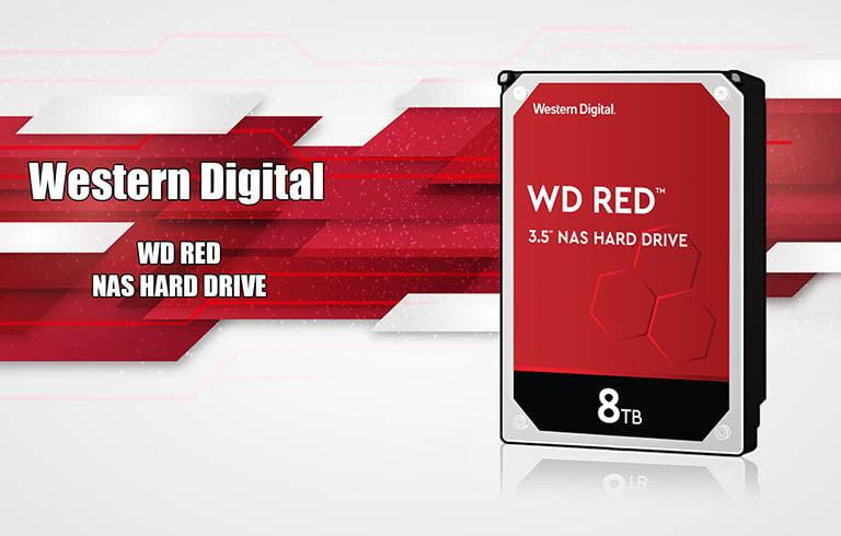 هارد وسترن دیجیتال سری قرمز
