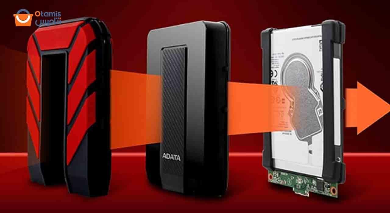 هارد اکسترنال 2 ترابایت ای دیتا مدل HD710 Pro